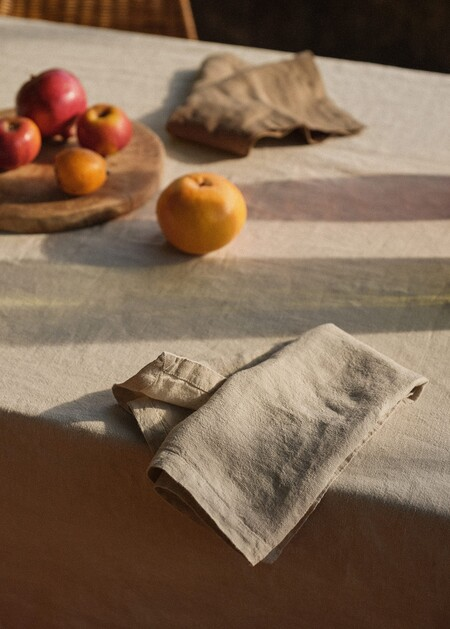 Pack de 2 servilletas 100% lino