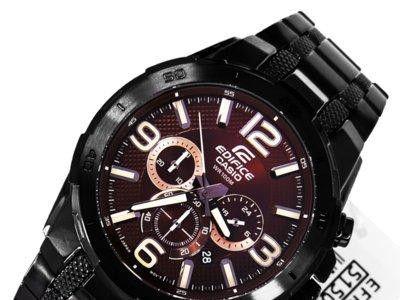 Reloj de acero Casio Edifice EFR-538BK-5AVUEF por 79 euros