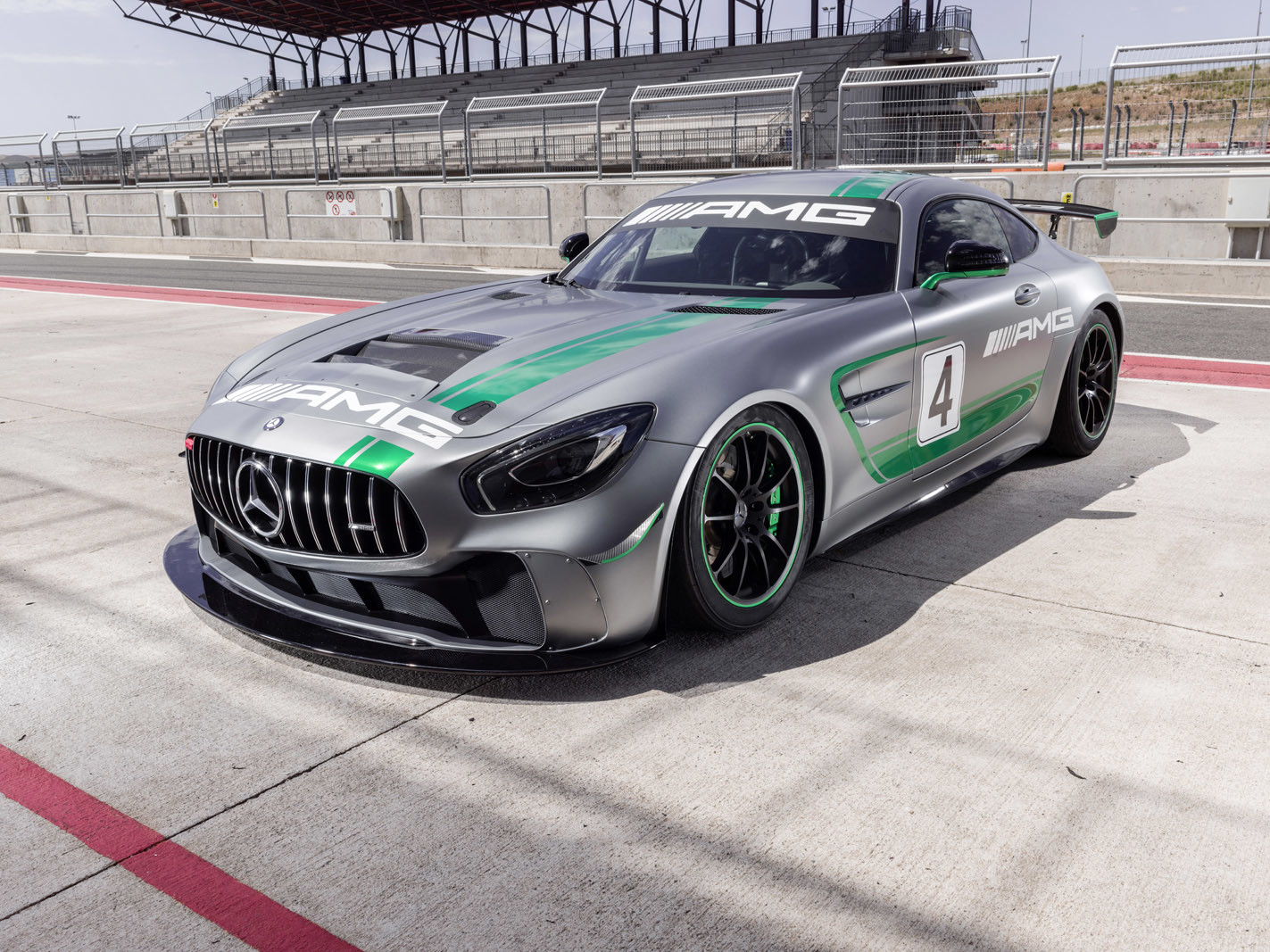 Foto de Mercedes-AMG GT4 (7/14)