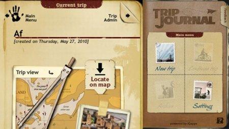 Crea tus propios diarios de viaje desde el iPhone con Trip Journal