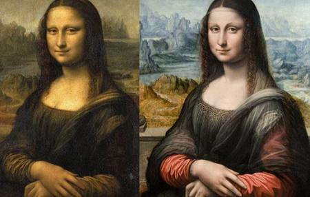 Gioconda Prado Madrid Louvre Paris Copia Original