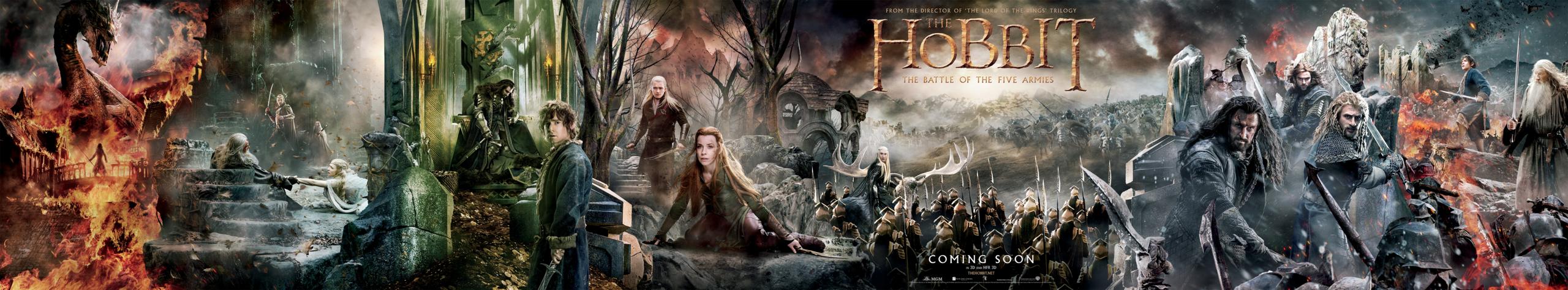 Foto de 'El hobbit: La batalla de los cinco ejércitos', carteles (4/29)