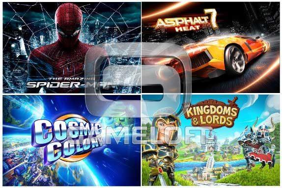 gameloft e3 games