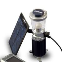 Lámpara LED solar y cargador de gadgets