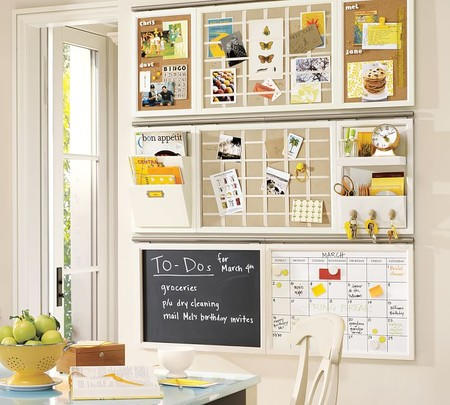 Daily Wall Organizaion System Components White O