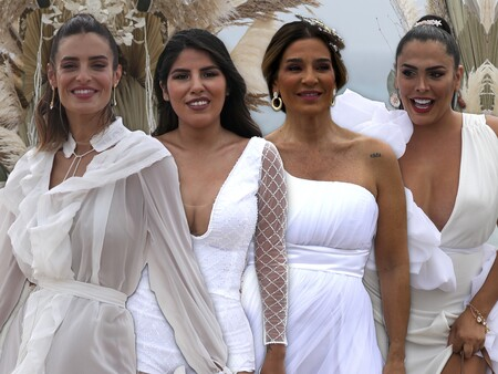 Los looks de los invitados de la boda de Anabel Pantoja y Omar 'El Negro', a examen: una competición muy reñida por ver quién eclipsaba más a la novia