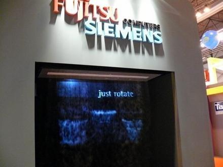 SIMO2006: pantalla de humo de Fujitsu