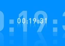 TimeFlow: Un salvapantallas en el que el tiempo pasa... literalmente