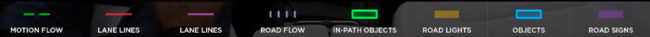 Leyenda Autopilot Tesla