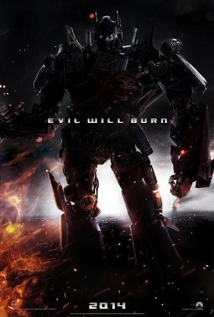 Promocional de Transformers 4