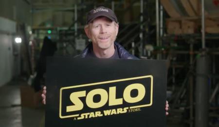 Ron Howard revela que su película de Star Wars se titula 'Solo: Una historia de Star Wars'
