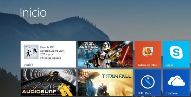 Ancla juegos de Steam al Inicio de Windows 8 con Steam Tile y Pin More