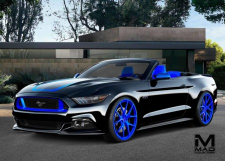 ¿Eres adicto a la adrenalina? Ford te deleitará con ocho Mustang extremos en el SEMA Show 2015