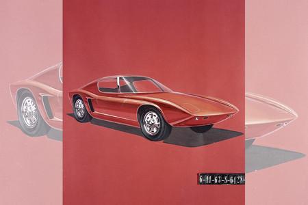 Ford nos enseña como eran los primeros bocetos del GT40 con el que conquistó Le Mans