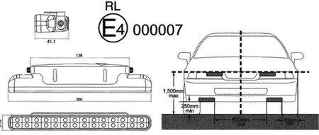 Luces diurnas y normativa ECE R48