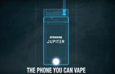 Jupiter IO, el móvil con el que puedes fumar