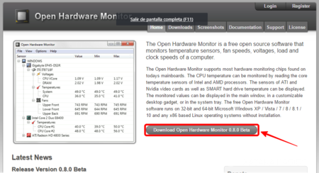 Download Open Hardware Monitor