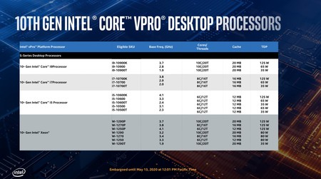 Intel Core Vpro 10a Generacion 2