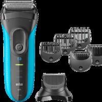 La afeitadora 3 en 1 Braun Series 3 3010BT W&D cuesta 72,23 euros hasta medianoche gracias a esta oferta del día de Amazon