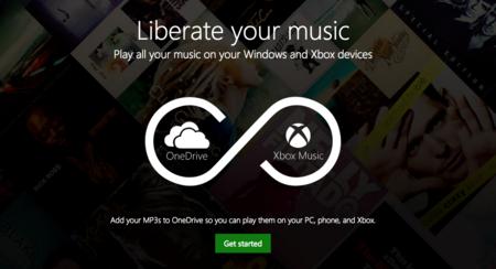 Si tienes música almacenada en OneDrive ahora la podrás reproducir desde Xbox Music