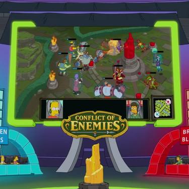 El episodio de Los Simpson y los esports aprovecha para criticar una realidad fundamental: los niños deben vivir sus vidas