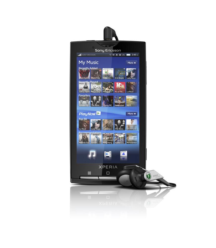 Foto de Sony Ericsson Xperia X10, oficiales (4/7)