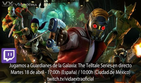 Streaming de Guardians of the Galaxy: The Telltale Series a las 17:00h (las 10:00h en Ciudad de México) [finalizado]
