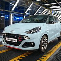 Aunque a México se rehúsa a venir, el nuevo Hyundai i10 N ya inició producción