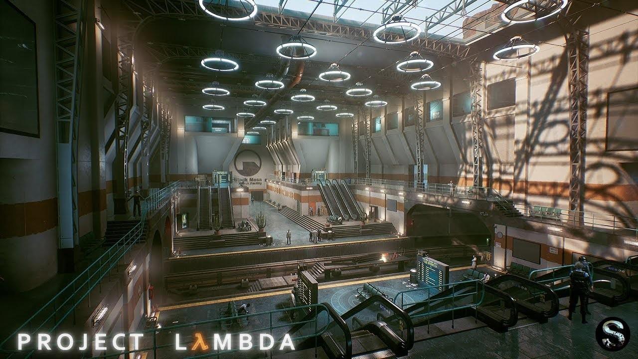 'Project Lambda', así es el ambicioso remake de 'Half-Life' hecho en Unreal Engine por un grupo de fans