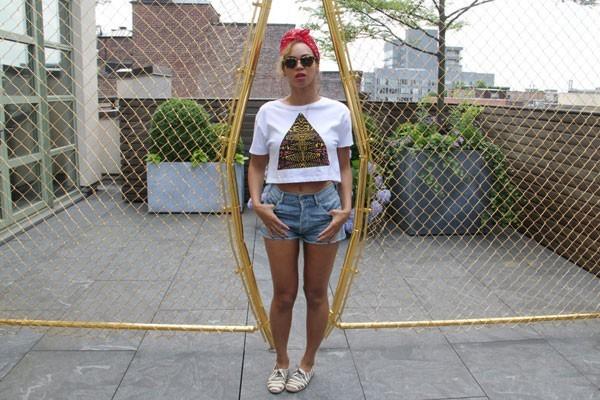 Foto de Beyonce enamorada de la moda de TopShop (10/20)
