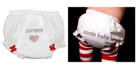 Cubre pañales amorosos y navideños