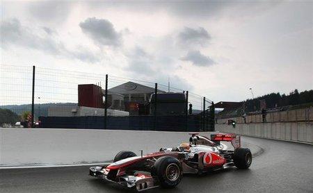 GP de Bélgica F1 2011: Lewis Hamilton y su conducción al límite