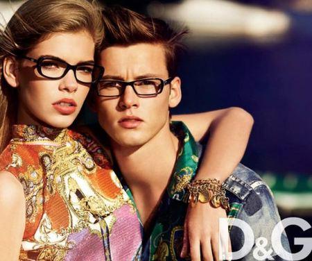 D&G eyewear, gafas de pasta de inspiración retro para la Primavera-Verano 2012