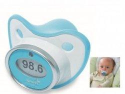 Termómetro-chupete para bebés
