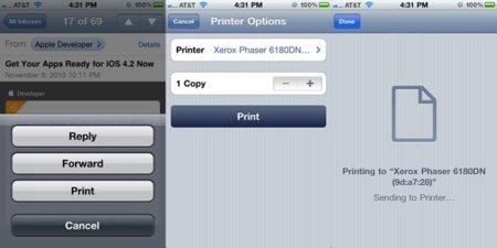 AirPrint Mac OS X 10.6.5