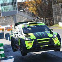 Valentino Rossi vuelve a arrasar en el Monza Rally Show ampliando su récord a siete victorias