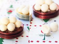 Recetas de Navidad para hacer con niños: Bolitas de coco con leche condensada