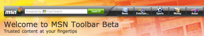 MSN Toolbar ahora usa SilverLight