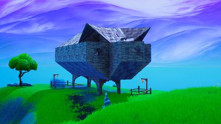 Desafío Fortnite: dónde conseguir el Fortbyte 69 en un edificio con forma de cerdo de piedra. Solución