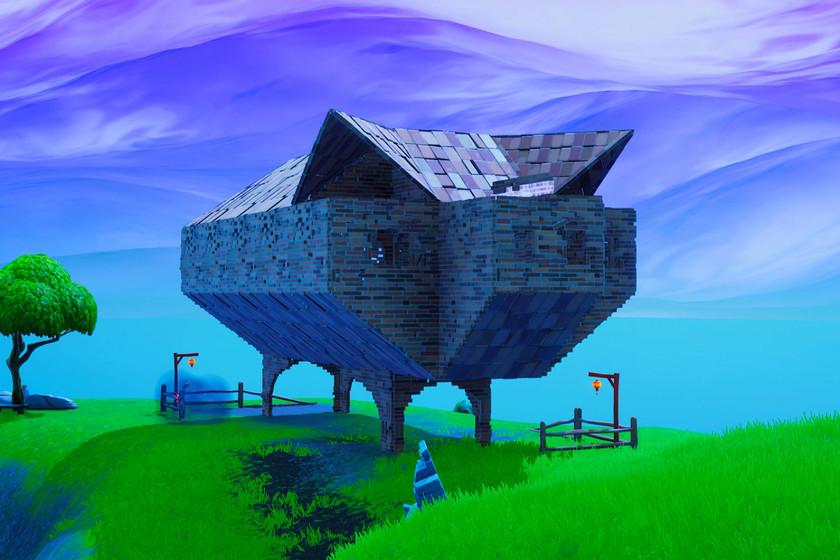 Fortbyte 69 Cómo Conseguir El De Un Edificio Con Forma De: Desafío Fortnite: Dónde Conseguir El Fortbyte 69 En Un