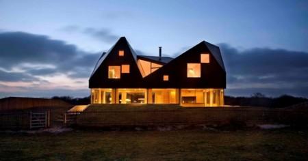 The Duna House, una vanguardista casa para pasar las vacaciones en la costa inglesa