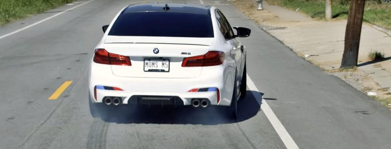 BMW muestra todo el potencial del M5 M Package y nos lo vende como ...