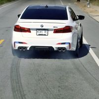 BMW muestra todo el potencial del M5 M Package y nos lo vende como el mejor coche para la vida familiar