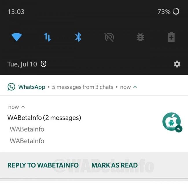 Whatsapp - Mark all as read