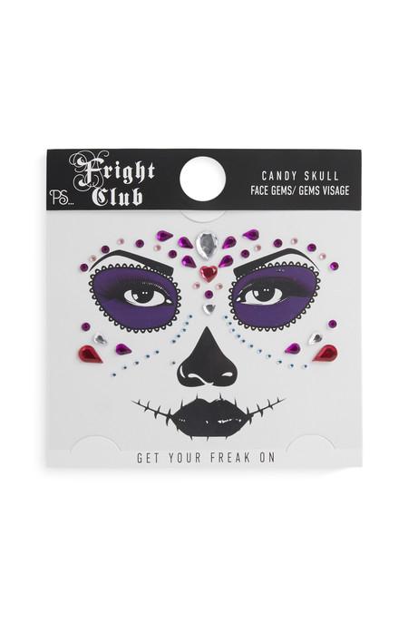 08 Halloween Candy Skull Makeup Set 2 50eur