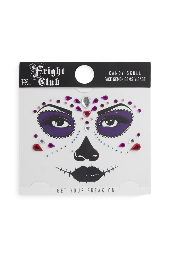 08 Halloween Candy Skull Makeup Set dos 50eur