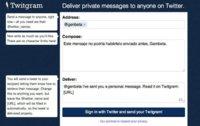 Twitgram, envía mensajes directos a cualquier usuario de Twitter o a grupos de ellos