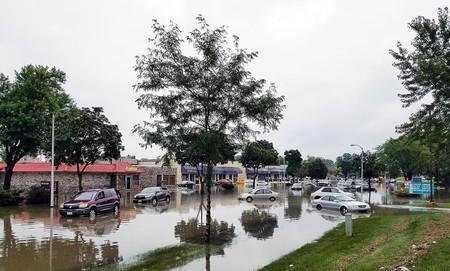 Inundaciones reclamar (foto: Jim Gade)