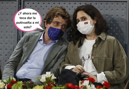 """La contundente respuesta de Isabel Díaz Ayuso a la prensa tras sacarla comiéndose los morros con su nuevo amor (y un meme del """"soltero de oro"""")"""
