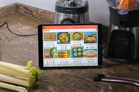 iPad cocina